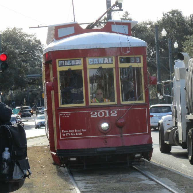 Canal Street street car, New Orleans