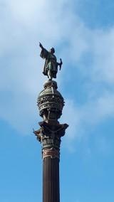 Columbus monument , Barcelona