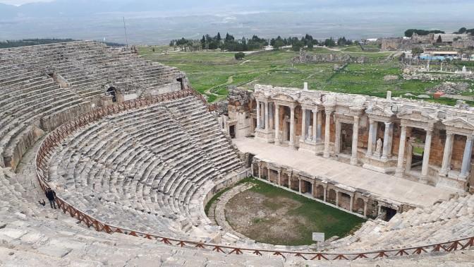Roman theater Hierapolis