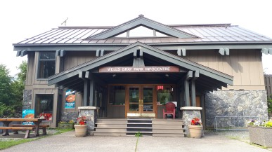 Wells Gray Visitor Center, Clearwater BC
